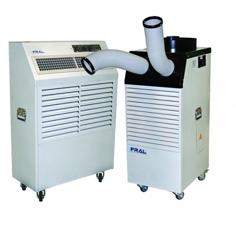 Mobilne klimatyzatory przemysłowe